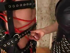 CD masturbation, pleased by Mistress for german