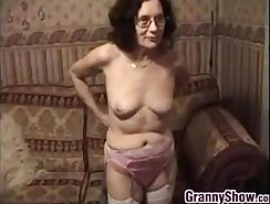 Beautiful Female Stripper Masturbating before class