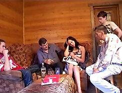 Alluring brunette Russian prostitute Aleksa Diamond gets ass stuffed