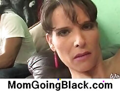 African mother and infidel stud suck and get fucked