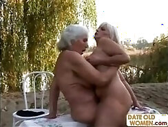 Buxom brunette and pale blond lesbians have a serious love for sucking dick