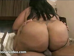 Busty Black BBW Ally Love Getting Her Ass Pounded