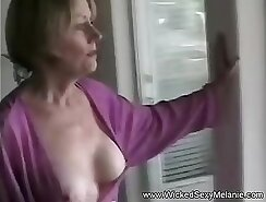 Cute my mom getting a cock in her eager butthole