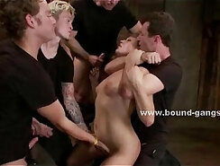 Brutally sweet sluts fucked in all holes
