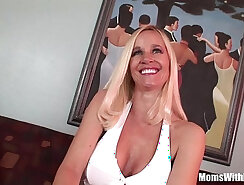 Busty milf anal toying feet and pink pussy