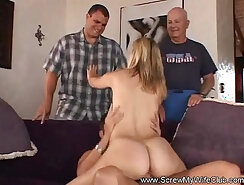 Cheating Housewife With Azure Lashes Fucks Stranger
