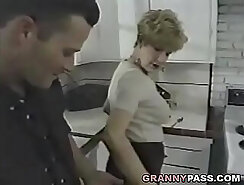 Amazing young hot students playing in the kitchen