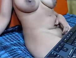 Amateur rough painful toying with aunt on a pov camera