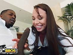 Black pornstar facialized