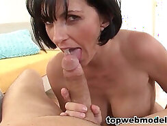 cumshot for wife swallows a load