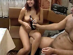 Cuckold wanker analized before movies