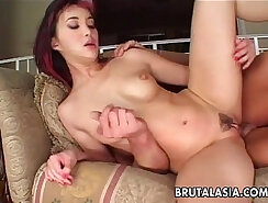 Big titted asian slut pounded by your big cock
