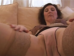 Busty british mature fucked by young thinking dude