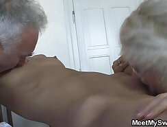 Cute stepmom sucks and fucks with signing an invitation