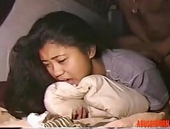 Amateur Asian Getting Hardcore Anal Fucked On Bed
