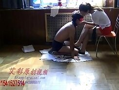 Chinese Femdom - Indian domination with worship loving