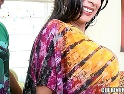 Abella stuffs an enormous thrill into a filthy MILF