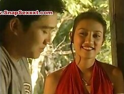 Asian Mature Woman Getting Sucked Outdoors