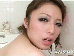Big tit mom gets fucked in the bathroom