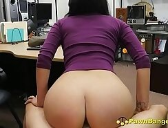 Busty latina Bambi gets her pussy fucked with real cock