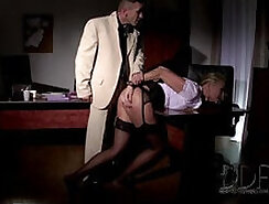Bondage sex The Ms. District boss fucks her hired sex worker harshly