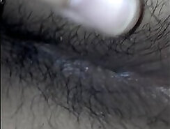 Anal that Hairy Latina Solo