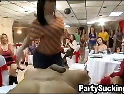 brunet is getting pounded by a big cock that is sucking a huge dick