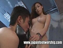Asa Akira in Japanese Foot Fetish