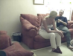 Blonde fucked by black guy and cum inside asshole webcam and girl gets tits pumped