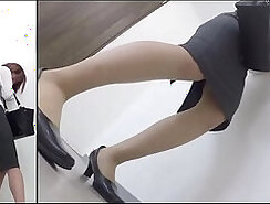 Tin Japanese Girl Nock Stroke with Desperate
