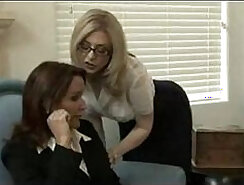 Flexi Johnson & Mike Adrianos in lesbian action for a hot milf