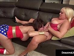 Alexis Golden takes a pounding